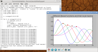 Scientific Python unter Ubuntu Linux