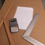 Die Maße der Baupläne sind meist in Zoll und müssen umgerechnet werden.